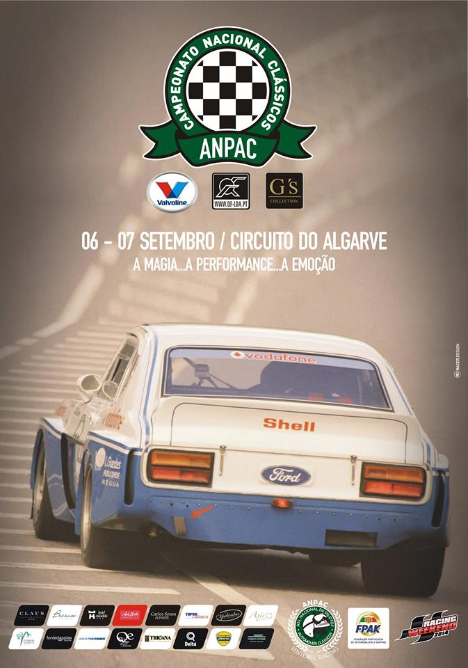 Destaque - Circuito do Algarve 06/07 Setembro - CNC / Legends Cup